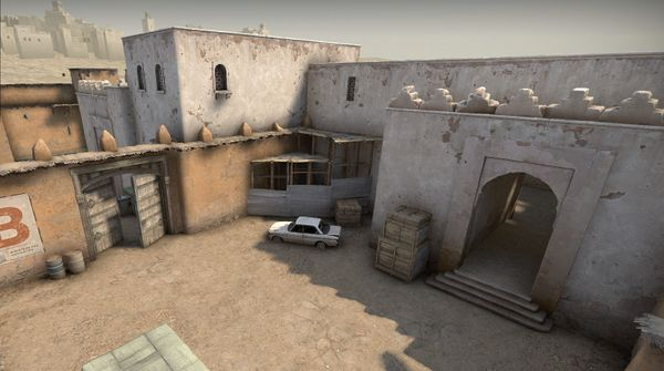Out of meta: CT 2B aggressive default on Dust2