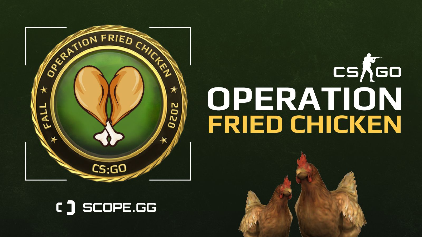 "Join Operation ""Fried Chicken"" and win prizes"