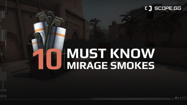 10 essential Mirage smokes