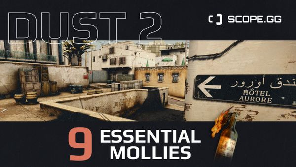 9 must know Dust2 molotovs