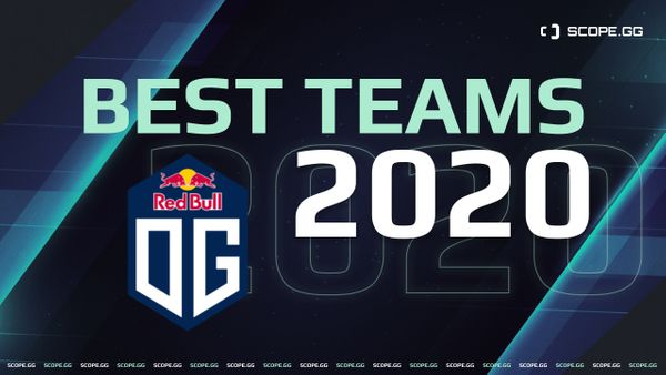 Best teams of 2020. #3: OG