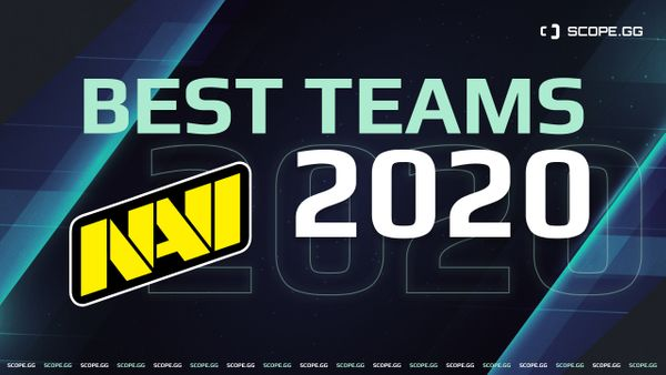 Best teams of 2020. #2, Na`Vi