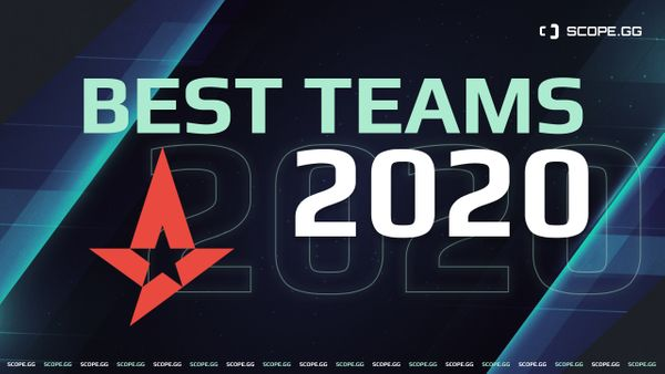 Best teams of 2020. #1, Astralis