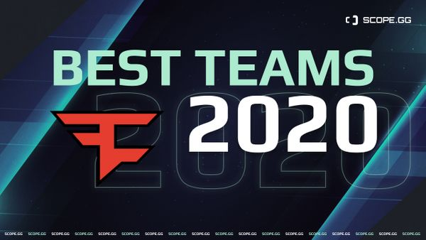 Best Teams of 2020. #10: FaZe Clan